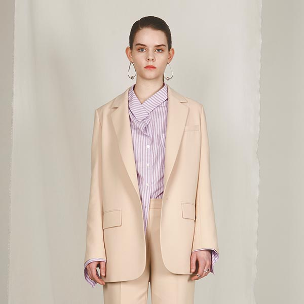 온앤온에디션BEIGE SUIT JACKET NE8SJ0700