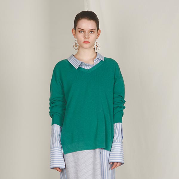 TWO-WAY KNIT_GREEN NE8SP0920