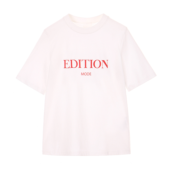EDITION LETTERING T-SHIRT NE8AE0900