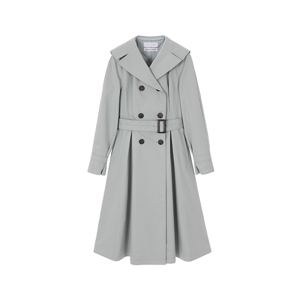 올리브데올리브[올리브데올리브] Plaisir D'amour FIT & FLARED TRENCH COAT OW9SR2090