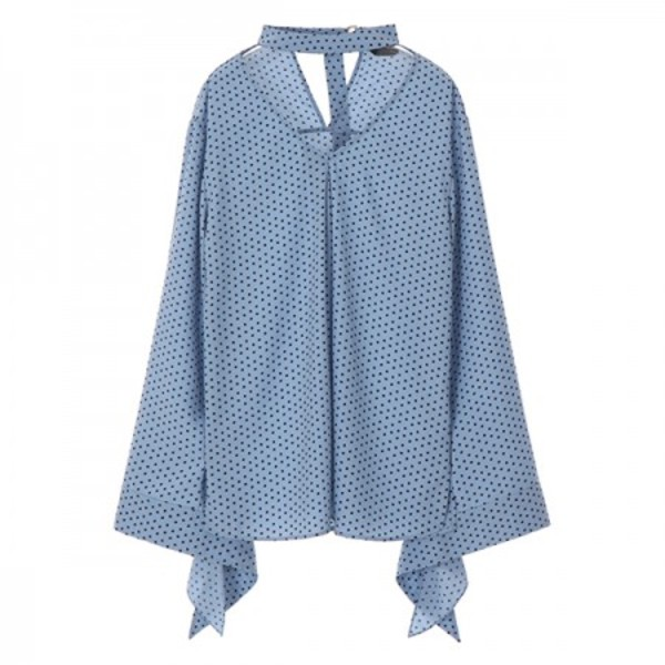 BABY DOT BLOUSE_BLUE NE8SB0760