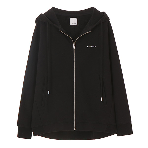 온앤온에디션EDITION HOODY ZIP-UP_BLACK NE8SE0870