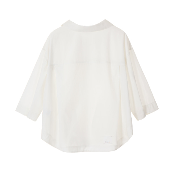 DAILY SHIRT JUMPER_WHITE NE8MM3030